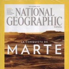 Coleccionismo de National Geographic: NATIONAL GEOGRAPHIC N. 39005 NOVIEMBRE 2016 - EN PORTADA: LA CONQUISTA DE MARTE (PRECINTADA). Lote 143299333