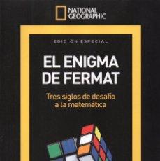 Coleccionismo de National Geographic: NATIONAL GEOGRAPHIC SERIE MATEMATICAS N. 6 - EL ENIGMA DE FERMAT (NUEVA). Lote 126129559