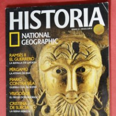 Collezionismo di National Geographic: HISTORIA - NATIONAL GEOGRAPHIC - Nº 34 - DRUIDAS - VISIGODOS - REMSES II - PERGAMO . Lote 86735924