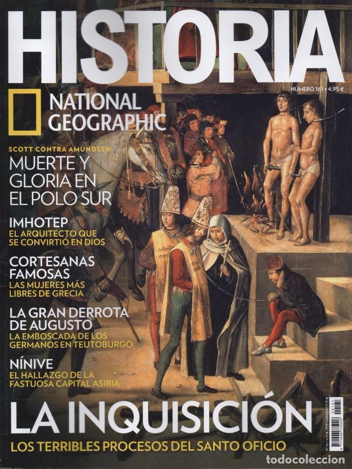 HISTORIA NATIONAL GEOGRAPHIC N. 161 - EN PORTADA: LA INQUISICION (NUEVA) (Coleccionismo - Revistas y Periódicos Modernos (a partir de 1.940) - Revista National Geographic)