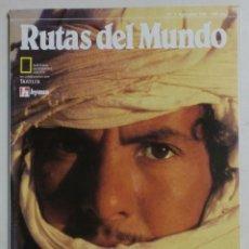Coleccionismo de National Geographic: RUTAS DEL MUNDO Nº9 ABRIL 1990 - NATIONAL GEOGRAPHIC SOCIETY - HYMSA. Lote 89040124
