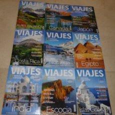 Coleccionismo de National Geographic: NATIONAL GEOGRAPHIC VIAJES - 9 EJEMPLARES VARIADOS V. Lote 91579265