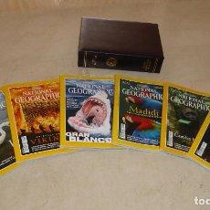 Coleccionismo de National Geographic: NATIONAL GEOGRAPHIC - VOL 5 Y 6 - 13 EJEMPLARES 2000. CON ESTUCHES PIEL. Lote 91653140