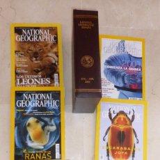Coleccionismo de National Geographic: NATIONAL GEOGRAPHIC - VOL 7 Y 8 - 12 EJEMPLARES 2001. CON ESTUCHES PIEL. Lote 91653410
