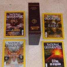 Coleccionismo de National Geographic: NATIONAL GEOGRAPHIC - VOL 9 Y 10 - 12 EJEMPLARES 2002. CON ESTUCHES PIEL. Lote 91653695