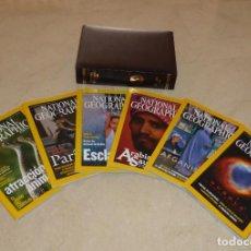 Coleccionismo de National Geographic: NATIONAL GEOGRAPHIC - VOL 11 - 6 EJEMPLARES PRIMER SEMESTRE 2003. CON ESTUCHE PIEL V. Lote 91653945