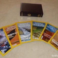 Coleccionismo de National Geographic: NATIONAL GEOGRAPHIC - VOL 15 - 9 EJEMPLARES 2005. CON EL ESTUCHE PIEL DEL 1º SEMESTRE V. Lote 91654545