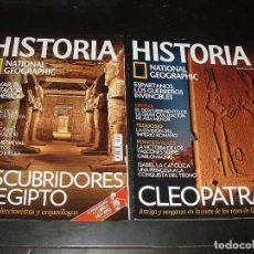 Coleccionismo de National Geographic: REVISTA HISTORIA NATIONAL GEOGRAPHIC Nº 75 EGIPTO Nº 94 CLEOPATRA. Lote 93659475