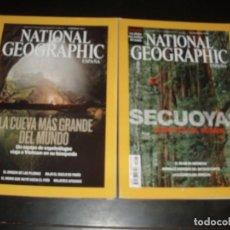 Coleccionismo de National Geographic: REVISTA NATIONAL GEOGRAPHIC LA CUEVA MAS GRANDE DEL MUNDO, SECUOYAS,2 REVISTAS. Lote 93660770