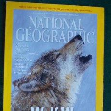 Coleccionismo de National Geographic: NATIONAL GEOGRAPHIC MARZO EN INGLÉS. Lote 95793067