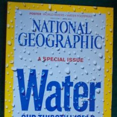 Coleccionismo de National Geographic: NATIONAL GEOGRAPHIC ESPECIAL AGUA WATER EN INGLÉS. Lote 95793107