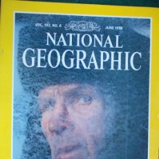 Coleccionismo de National Geographic: NATIONAL GEOGRAPHIC JUNIO 1998 98 EN INGLÉS. Lote 95793131