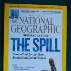 Coleccionismo de National Geographic: NATIONAL GEOGRAPHIC ESPECIAL THE SPILL EN INGLÉS. Lote 95793467
