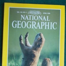 Coleccionismo de National Geographic: NATIONAL GEOGRAPHIC ABRIL 98 1998 EN INGLÉS. Lote 95793627
