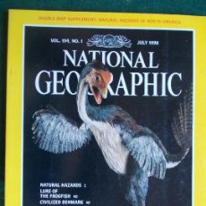 Coleccionismo de National Geographic: NATIONAL GEOGRAPHIC JULIOL 98 1998 EN INGLÉS. Lote 95793663