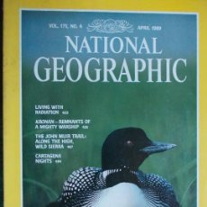 Coleccionismo de National Geographic: NATIONAL GEOGRAPHIC ABRIL 89 1989 EN INGLÉS. Lote 95793827