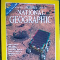 Coleccionismo de National Geographic: NATIONAL GEOGRAPHIC AGOSTO 98 1998 EN INGLÉS. Lote 95793903