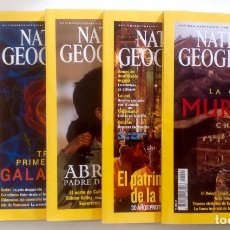 Coleccionismo de National Geographic: LOTE NATIONAL GEOGRAPHIC - 5 NÚMEROS. Lote 98186167