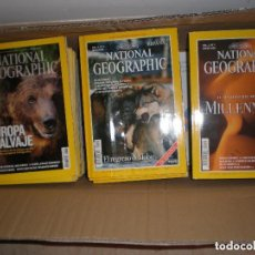 Coleccionismo de National Geographic: LOTE DE 46 REVISTAS DE NATIONAL GEOGRAPHIC. Lote 98220855