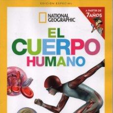Coleccionismo de National Geographic: NATIONAL GEOGRAPHIC KIDS ESPECIAL N. 1 EL CUERPO HUMANO - GRAN ATLAS DE ANATOMIA (NUEVA). Lote 193879638