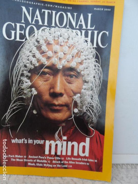 WHAT´S IN YOUR MIND MARCH 2005 (Coleccionismo - Revistas y Periódicos Modernos (a partir de 1.940) - Revista National Geographic)
