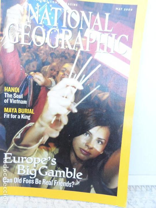 Coleccionismo de National Geographic: EUROPE´S BIG GAMBLE MAY 2004. - Foto 1 - 98813923