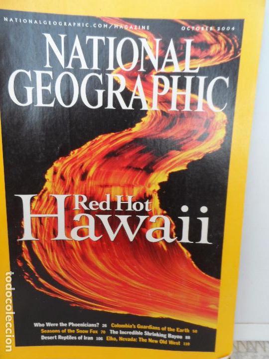 RED HOT HAWAII OCTOBER 2004 (Coleccionismo - Revistas y Periódicos Modernos (a partir de 1.940) - Revista National Geographic)
