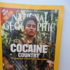 Coleccionismo de National Geographic: COCAINE COUNTRY JULY 2004.. Lote 98814119