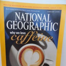 Coleccionismo de National Geographic: WHY WE LOVE CAFFEINE JANUARY 2005 . Lote 98814167