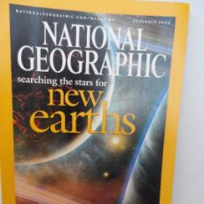 Coleccionismo de National Geographic: NEW EARTHS DECEMBER 2004. Lote 98814211