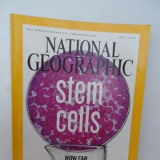 Coleccionismo de National Geographic: STEM CELLS HOW FAR WILL WE GO ? . Lote 98814299