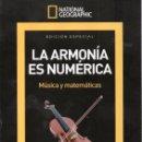 Coleccionismo de National Geographic: NATIONAL GEOGRAPHIC ESPECIAL SERIE MATEMATICAS N. 8 - LA ARMONIA ES NUMERICA (NUEVA). Lote 161129966