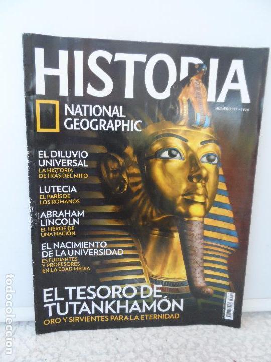 HISTORIA NATIONAL GEOGRAPHIC Nº 117. (Coleccionismo - Revistas y Periódicos Modernos (a partir de 1.940) - Revista National Geographic)