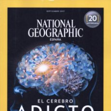 Coleccionismo de National Geographic: NATIONAL GEOGRAPHIC N. 41003 SEPTIEMBRE 2017 - EN PORTADA: EL CEREBRO ADICTO (NUEVA). Lote 178868921