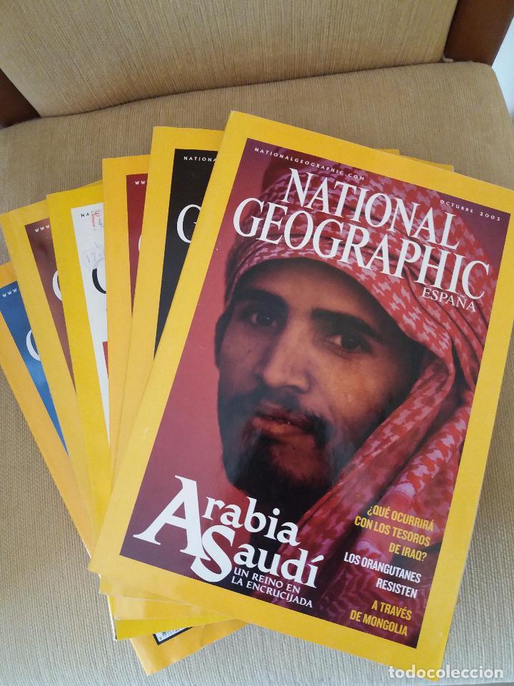 LOTE 6 REVISTAS NATIONAL GEOGRAPHIC ESPAÑA (VER DESCRIPCIÓN Y FOTOS) POSIBILIDAD VENTA INDIVIDUAL (Coleccionismo - Revistas y Periódicos Modernos (a partir de 1.940) - Revista National Geographic)