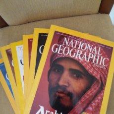 Coleccionismo de National Geographic: LOTE 6 REVISTAS NATIONAL GEOGRAPHIC ESPAÑA (VER DESCRIPCIÓN Y FOTOS) POSIBILIDAD VENTA INDIVIDUAL. Lote 101102731