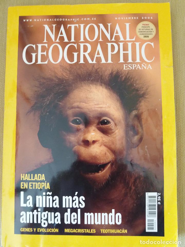 Coleccionismo de National Geographic: LOTE 6 REVISTAS NATIONAL GEOGRAPHIC ESPAÑA (VER DESCRIPCIÓN Y FOTOS) POSIBILIDAD VENTA INDIVIDUAL - Foto 6 - 101102731