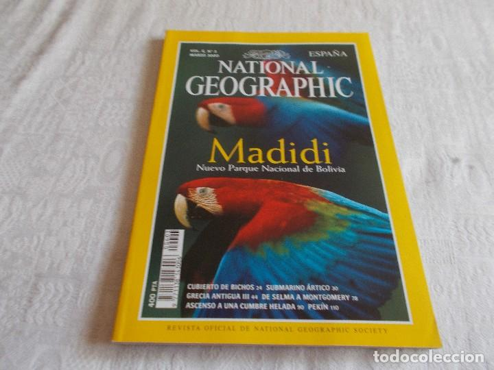 NATIONAL GEOGRAPHIC VOL.6 Nº 3 MARZO 2000 (Coleccionismo - Revistas y Periódicos Modernos (a partir de 1.940) - Revista National Geographic)