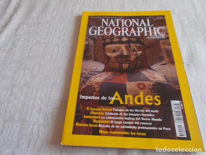 NATIONAL GEOGRAPHIC JUNIO 2002 CON MAPA ANEXO (Coleccionismo - Revistas y Periódicos Modernos (a partir de 1.940) - Revista National Geographic)