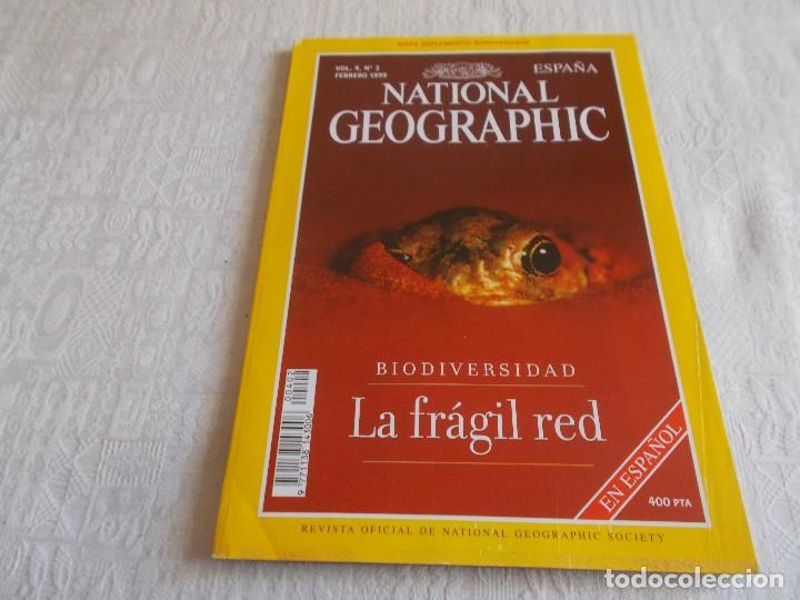 NATIONAL GEOGRAPHIC VOL 4 Nº 2 CON MAPA SUPLEMENTO (Coleccionismo - Revistas y Periódicos Modernos (a partir de 1.940) - Revista National Geographic)