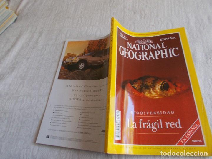 Coleccionismo de National Geographic: NATIONAL GEOGRAPHIC Vol 4 nº 2 con Mapa suplemento - Foto 2 - 101504343