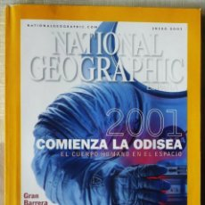 Coleccionismo de National Geographic: NATIONAL GEOGRAPHIC. ENERO 2001. Lote 102430139