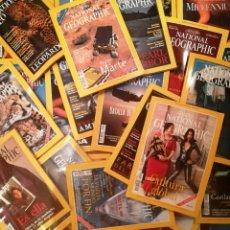 Coleccionismo de National Geographic: LOTE DE 75 REVISTAS DE NATIONAL GEOGRAPHIC ESPAÑA DEL AÑO 1997 A 2016. VER NÚMEROS Y AÑOS. Lote 102947495