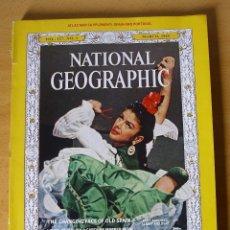 Coleccionismo de National Geographic: ANTIGUA REVISTA NATIONAL GEOGRAPHIC AMERICANA AÑO 1965 REPORTAJE ESPECIAL SOBRE ESPAÑA. Lote 103849495