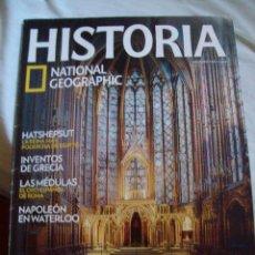 Coleccionismo de National Geographic: NATIONAL GEOGRAPHIC HISTORIA Nº 138 SAINTE CHAPELLE HATSHEPSUT INVENTOS DE GRECIA NAPOLEON WATERLOO. Lote 104008131