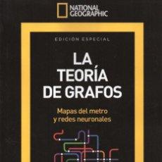 Coleccionismo de National Geographic: NATIONAL GEOGRAPHIC ESPECIAL N. 13 (SERIE MATEMATICAS) - LA TEORIA DE GRAFOS (NUEVA). Lote 179250756