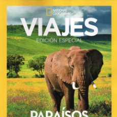 Coleccionismo de National Geographic: VIAJES NATIONAL GEOGRAPHIC ESPECIAL N. 6 - PARAISOS NATURALES (NUEVA). Lote 178868881