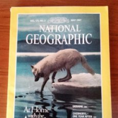 Coleccionismo de National Geographic: NATIONAL GEOGRAPHIC - VOL. 171 Nº5 MAYO 1987 - EDICION USA, EN INGLES . Lote 104580175