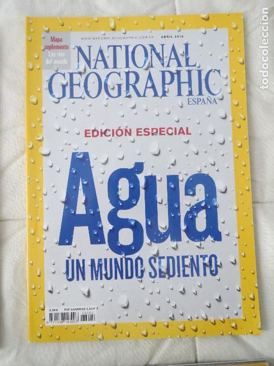 REVISTA NATIONAL GEOGRAPHIC ESPAÑA ABRIL 2010 AGUA UN MUNDO SEDIENTO (Coleccionismo - Revistas y Periódicos Modernos (a partir de 1.940) - Revista National Geographic)