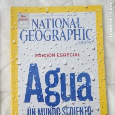 Coleccionismo de National Geographic: REVISTA NATIONAL GEOGRAPHIC ESPAÑA ABRIL 2010 AGUA UN MUNDO SEDIENTO. Lote 108062399